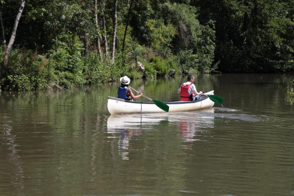 balade en barque au marais poitevin