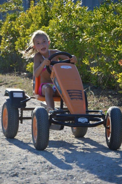course kart au camping l'Ambois