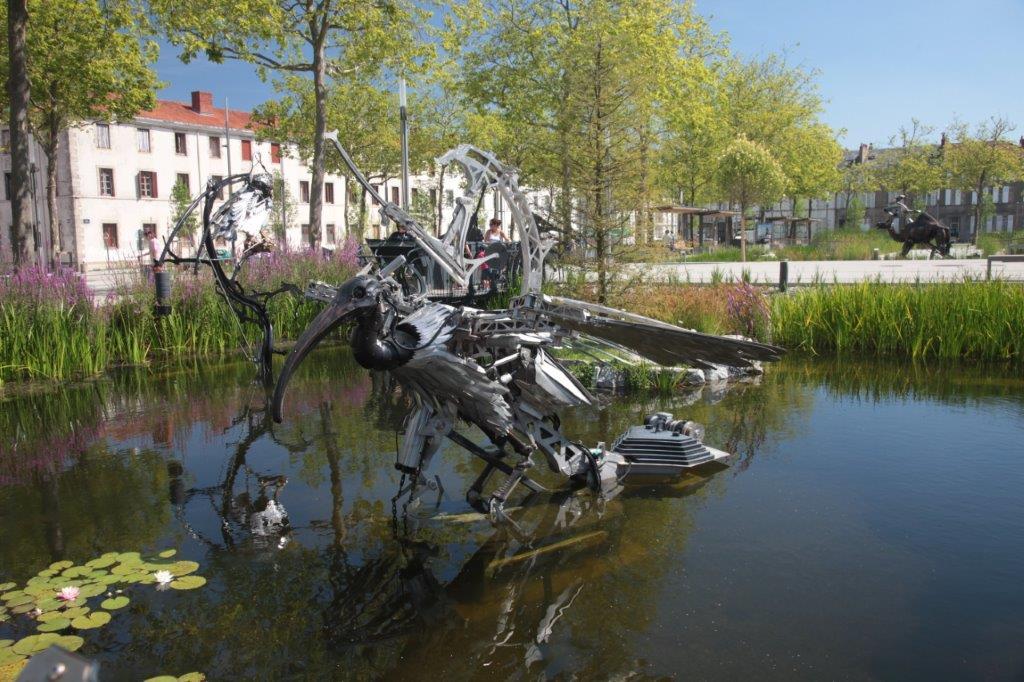 Zoo de la place de la Roche sur Yon