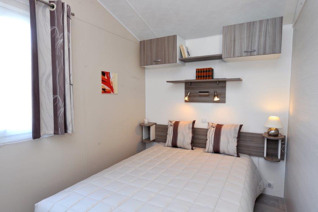 chambre mobil home camping Vendée);