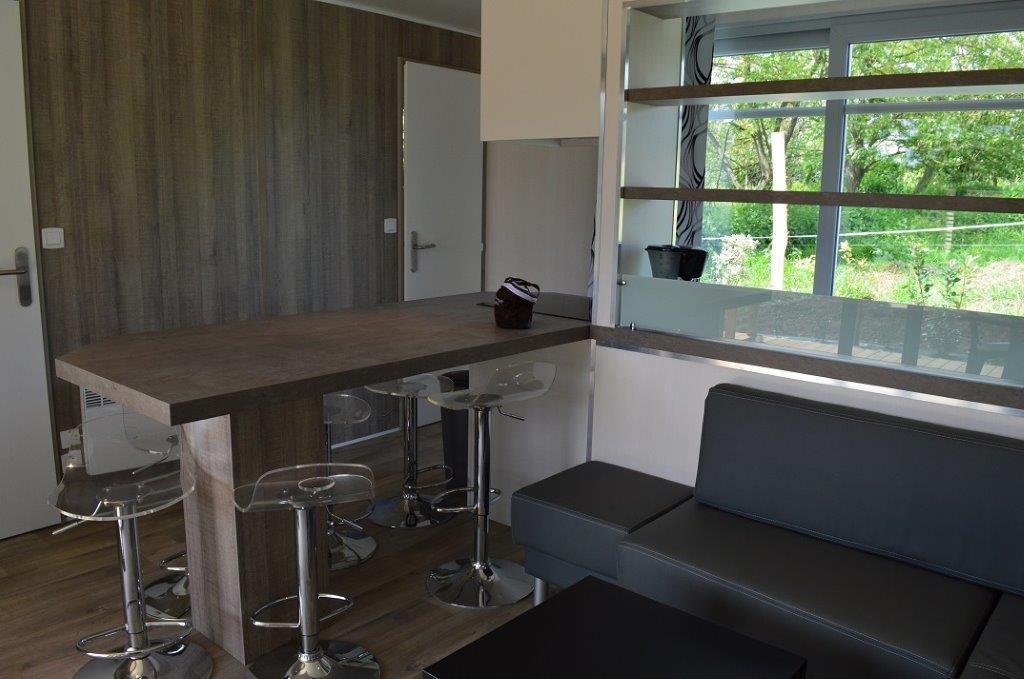 location chalet moderne camping Vendée);