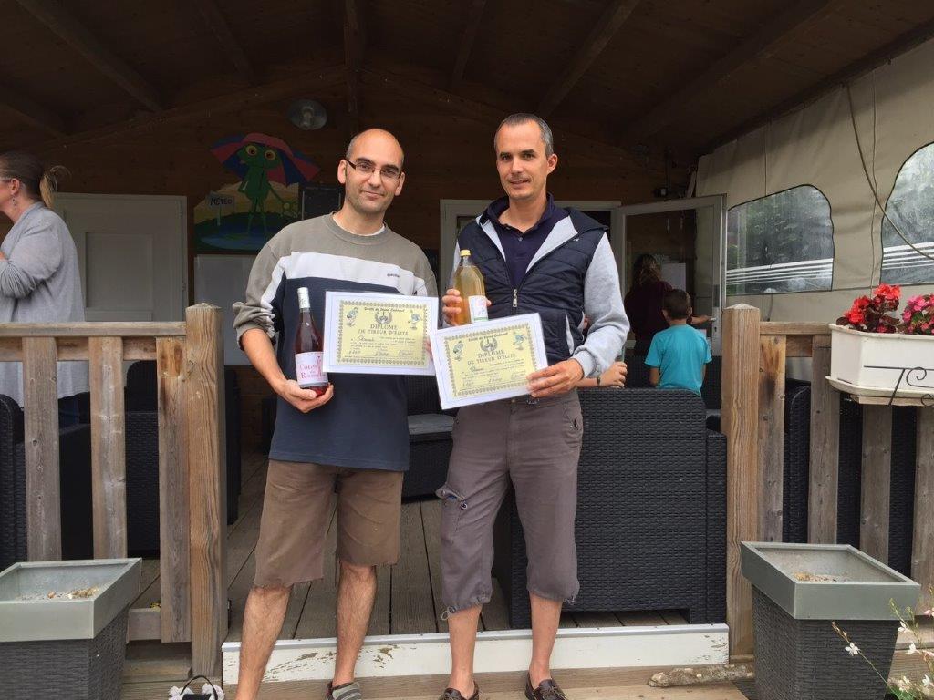 concours de pétanque du camping l'Ambois en Vendée