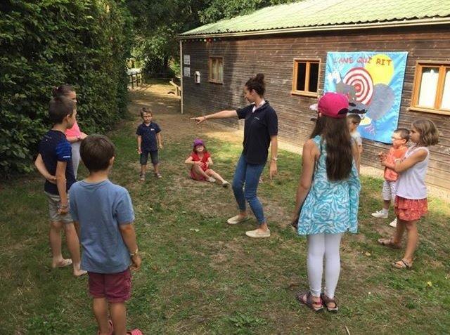 club enfants au camping