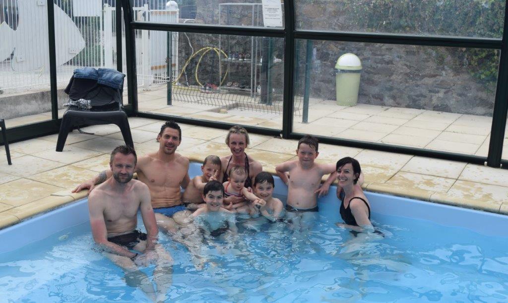 camping familial avec piscine couverte et chauffée