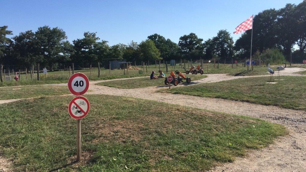 course de kart au camping en Vendée