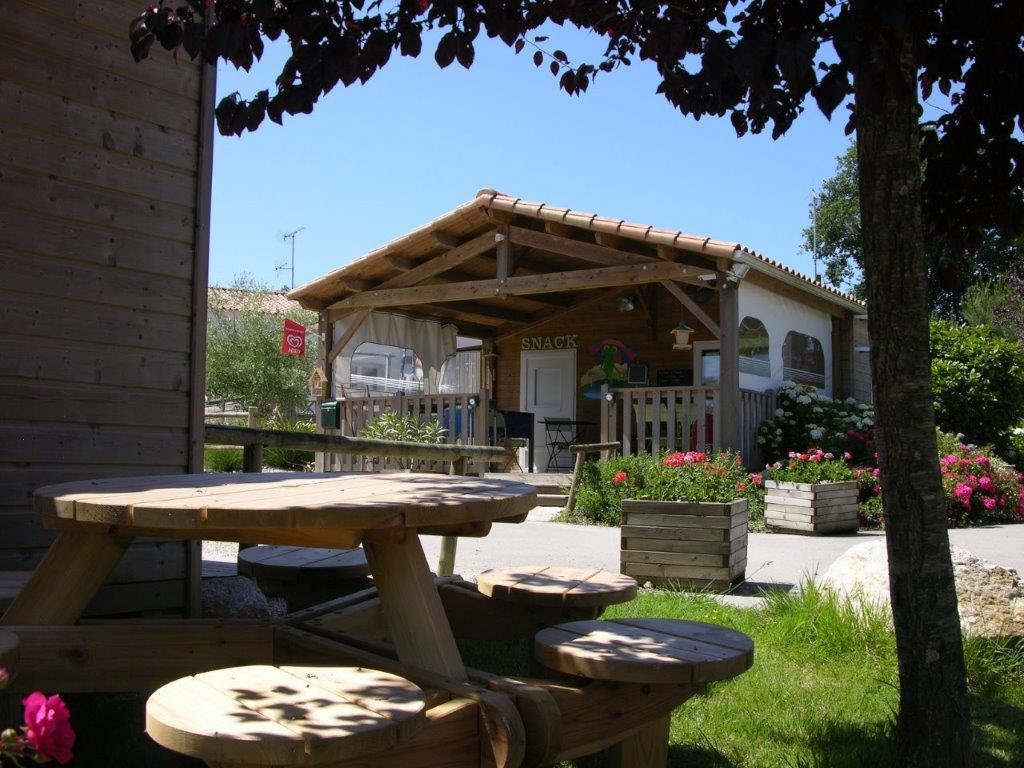 camping avec snack bar en Vendée