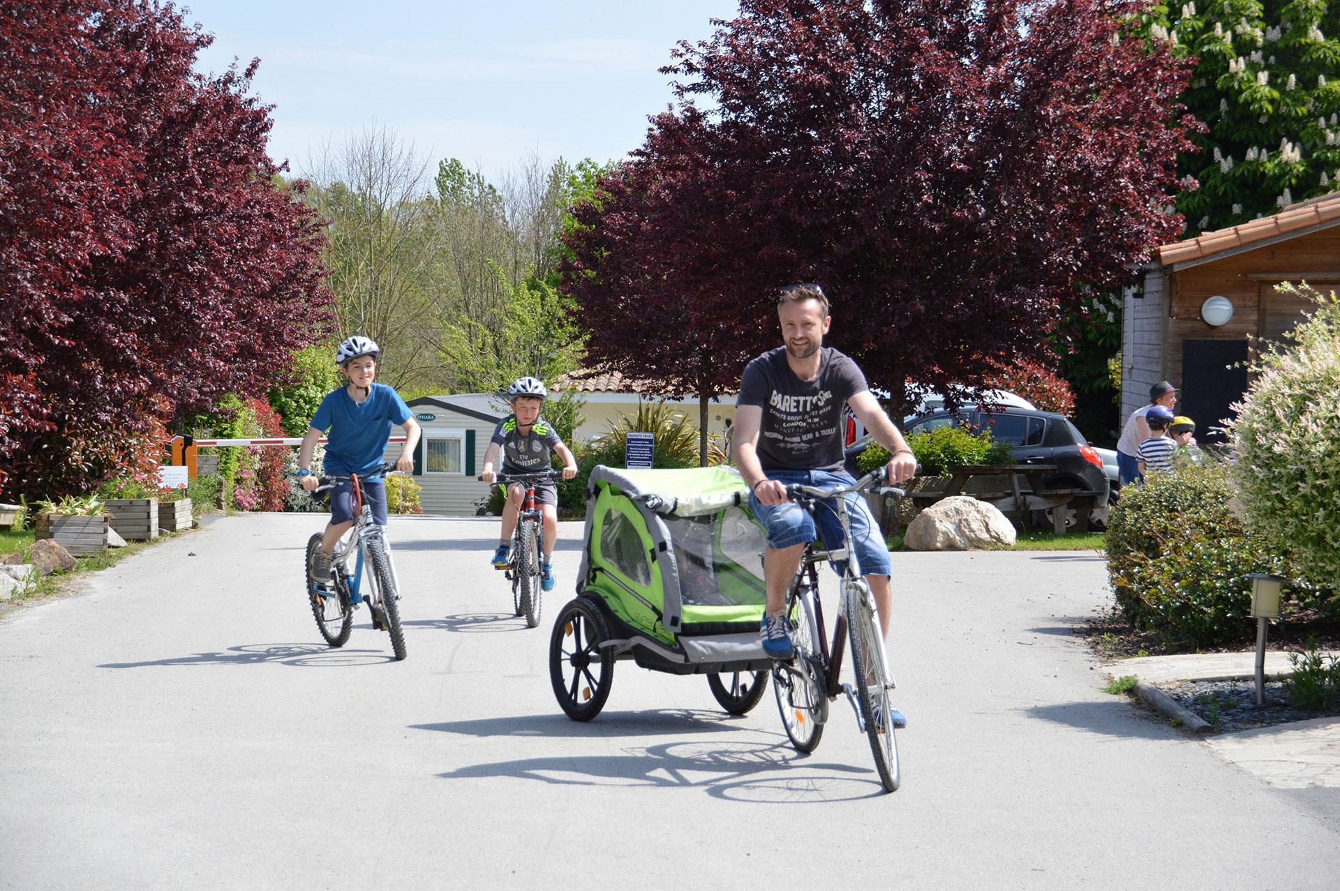 Pistes cyclables à proximité du camping