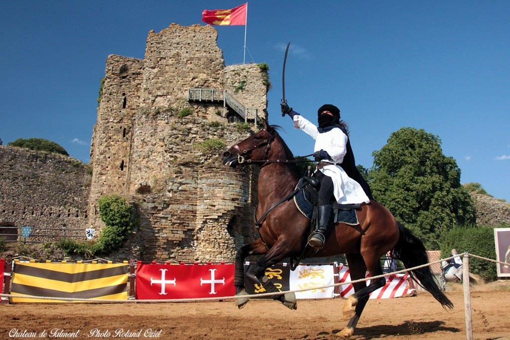 Spectacle au château de Talmont