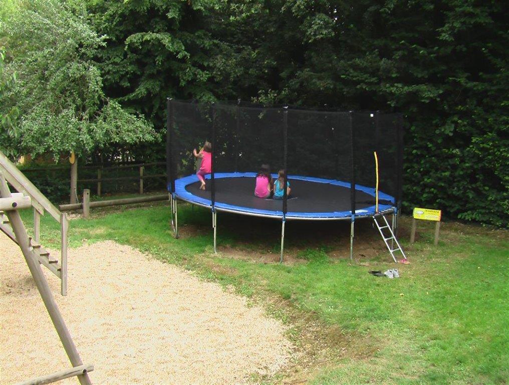 camping en Vendée avec trampoline