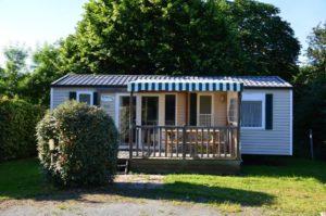 Mobile Home en location à l'année camping