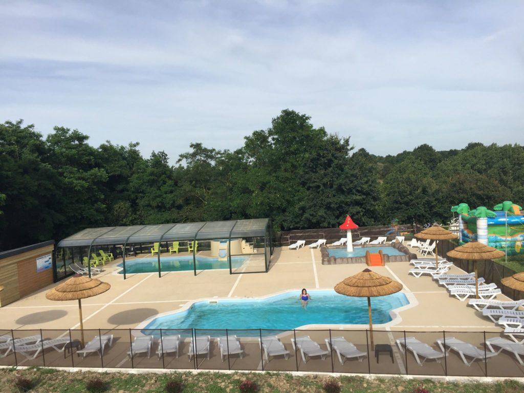 piscine dans camping en vendée pas cher