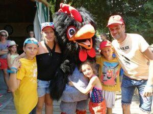 Les enfants au camping en Vendée